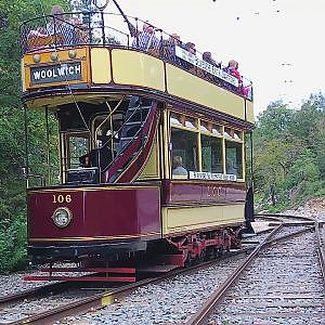 September Interlude at The National Tramway Museum - YouTube