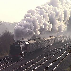 6233 Duchess of Sutherland & 60009 Union of South Africa 17/11/18 - YouTube