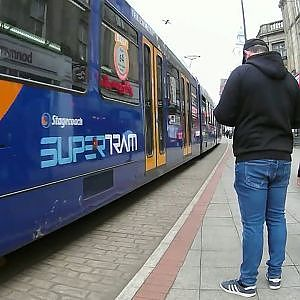 Stagecoach Supertram - Castle Square - YouTube