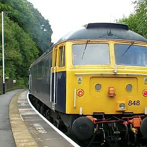 Alan Barber's 70th Birthday Charter Train - Ambergate - YouTube