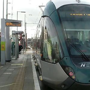 Nottingham Express Transit David Lane - YouTube